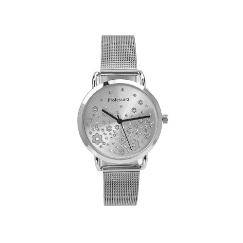 Relógio c/Bracelete Ajustável Aço