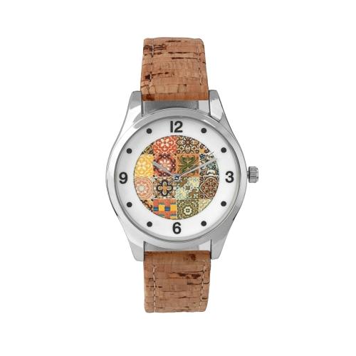 Relógio C/Bracelete Cortiça
