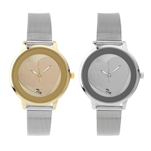 Relógio c/Bracelete Aço