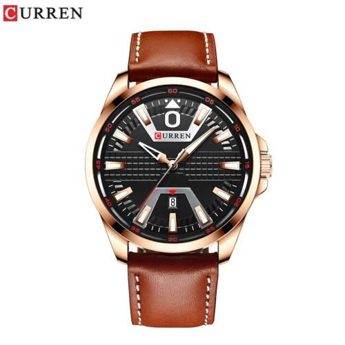 Relógio c/Bracelete Pele Curren