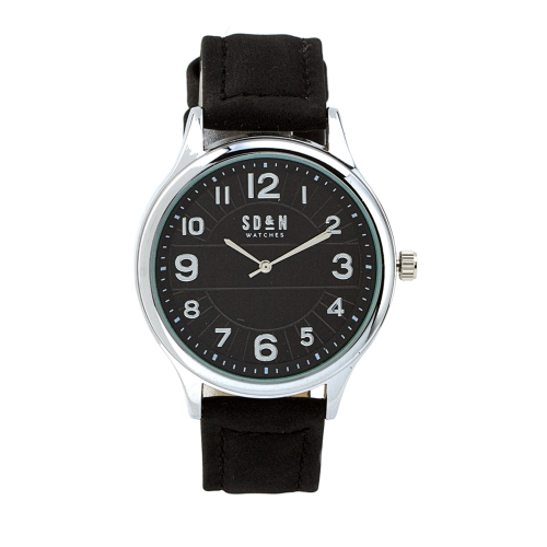 Relógio c/Bracelete Pele